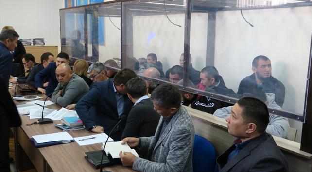 Kazakistanda DEAŞlı 14 teröriste hapis cezası
