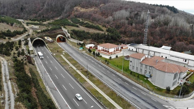 Bolu Dağı Tüneli, kontrol için 1,5 saat trafiğe kapatılacak