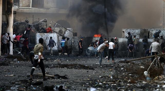 BM: Iraktaki protestolarda 424 gösterici öldü