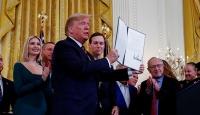 Trump'tan Yahudiliği etnik köken olarak tanıyan başkanlık kararnamesi