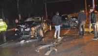 Aydın'da zincirleme trafik kazası: 4 yaralı