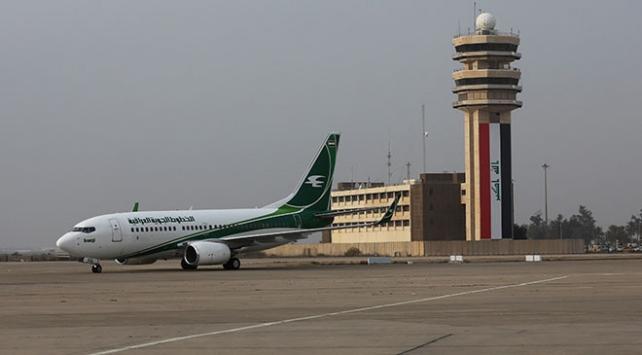 Irakta Bağdat Uluslararası Havalimanı yakınlarına roket düştü