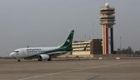 Irak'ta Bağdat Uluslararası Havalimanı yakınlarına roket düştü