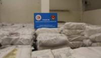 Kapıkule'de yaklaşık 20 ton kaçak çay ele geçirildi