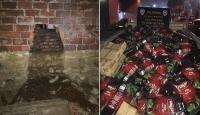 Deponun duvarını delen hırsızlar 90 bin liralık çay çaldı