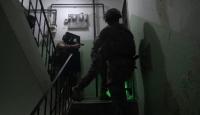 Suikastçı teröristin yakalanma görüntüleri ortaya çıktı