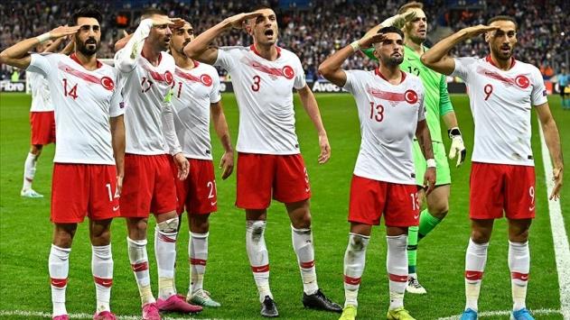 UEFA A Milli Futbol Takımının asker selamına ceza vermedi