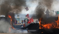 Fransa'daki eylemciler geri adım atmıyor