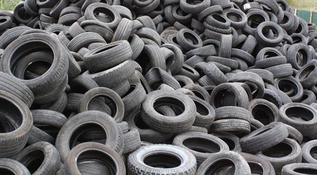 Çin lastik çöpleriyle mücadele etmeye çalışıyor