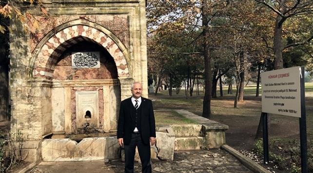 Fatih Sultan Mehmetin otağını kurduğu Hünkar Çayırına panoramik müze