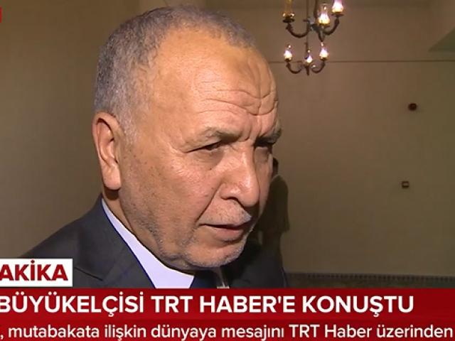 Libyanın Ankara Büyükelçisi, mutabakat eleştirilerine TRT Haberde cevap verdi