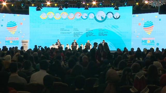 TRT 8. Uluslararası Çocuk Medyası Konferansı'na rekor katılım