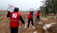Türk Kızılaydan Suriye'ye insani yardım