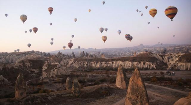 Kapadokyada sıcak hava balonları 2 gündür uçamıyor