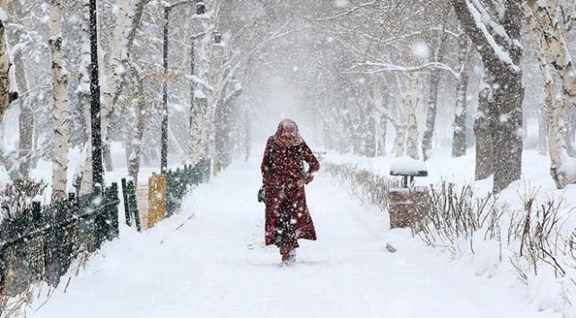 Doğu Anadoluda 5 ilde kar yağışı etkili olacak