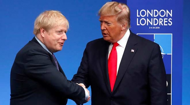 Trump İngilteredeki seçimden zaferle çıkan Johnsonı kutladı