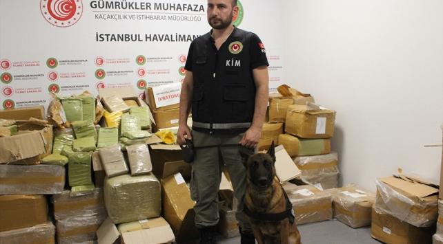 İstanbul Havalimanında rekor uyuşturucu: 1,7 ton ele geçirildi