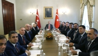 Cumhurbaşkanı Erdoğan Türk Eczacıları Birliği Başkanı Çolak'ı kabul etti