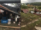 Muğla'da hortum evlerin çatılarını uçurdu ağaçları devirdi