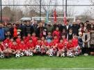TİKA'dan Gürcistan'da çocuklara futbol sahası