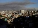 Orman yangınlarıyla boğuşan Şili'de kırmızı alarm verildi