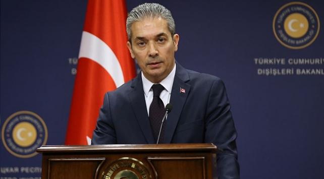 Dışişleri Sözcüsü Aksoydan ABye Libya mutabakatı tepkisi