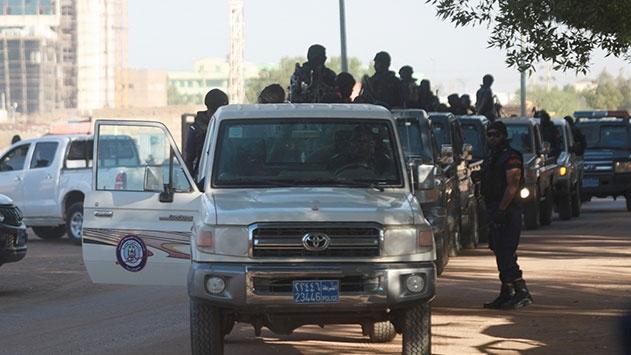 Sudanda güvenlik tedbirleri en üst seviyeye çıkartıldı