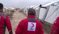 Türk Kızılaydan ihtiyaç sahibi Suriyeliler için ısıtıcı ve kömür yardımı çağrısı