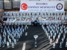 9 ildeki operasyonda ele geçirilen 256 ton sahte içki İstanbul'da sergilendi