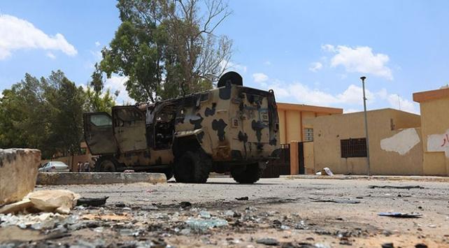 UMH güçleri Trablusun güneyindeki Hafter mevzilerini hedef aldı