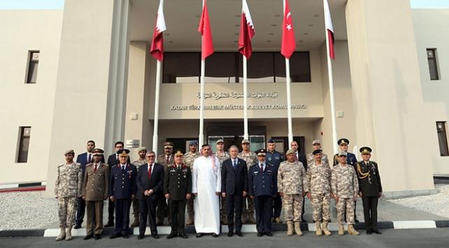 Katar Türk Birleşik Müşterek Kuvvet Komutanlığı Karargahı törenle açıldı