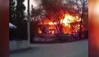Pendik'te gecekondu yangını