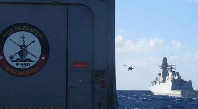 MSBden Akdeniz Kalkanı Harekatı paylaşımı
