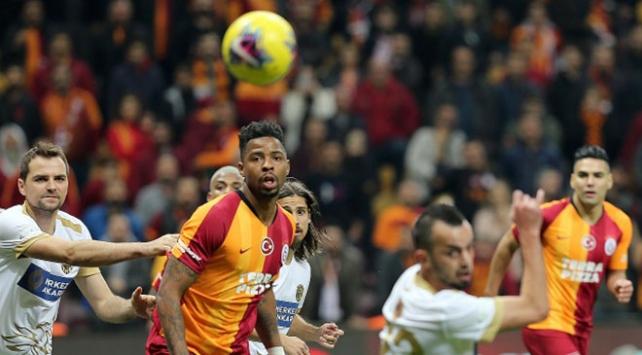 Galatasaray-MKE Ankaragücü 2-2 berabere kaldı