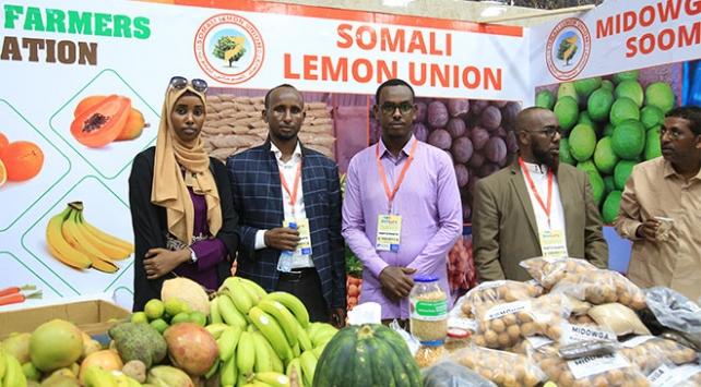 Somalinin ilk tarım fuarı açıldı