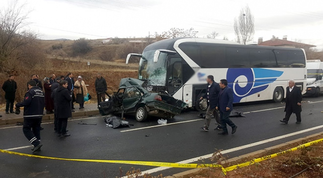 Taziye yolunda kaza: Bir aile yok oldu