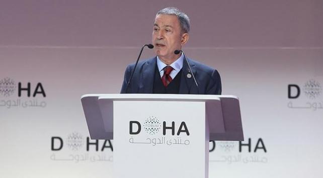 Bakan Akar: Sadece terör örgütleri ile mücadele ediyoruz