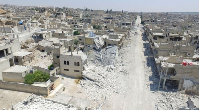 Geçmişi yok edilen ülke: Suriye