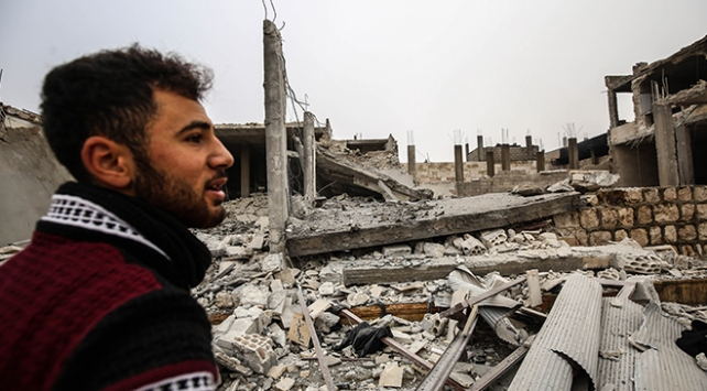 Esed rejimi İdlibe saldırdı: 1 ölü, 7 yaralı