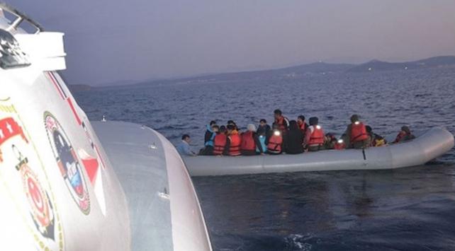 Balıkesirde 38 düzensiz göçmen yakalandı