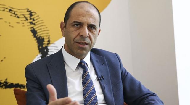 KKTC Dışişleri Bakanı Özersay: İHA intikali söz konusu değil
