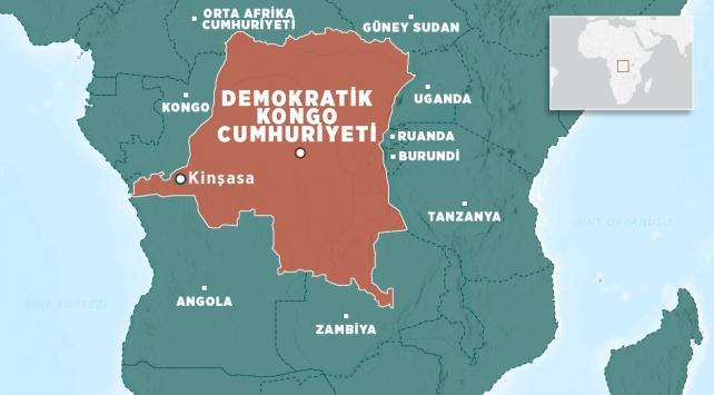 Kongoda maden ocağında göçük: 30 ölü
