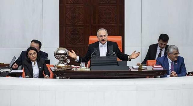 TBMM Başkanvekili Gökten Meclisi aralıksız yönetme rekoru