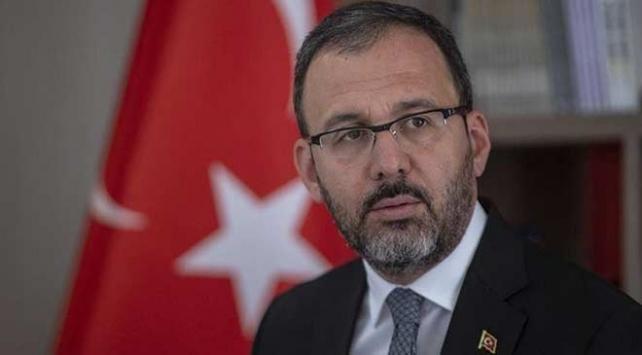 Bakan Kasapoğlundan İstiklal Marşının yarıda kesilmesine tepki