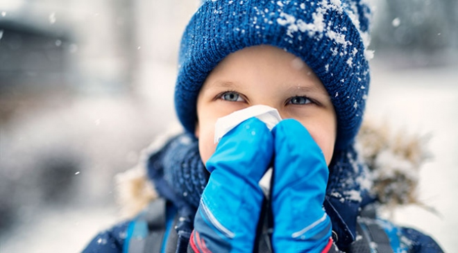 Kış aylarında çocukları hastalıktan koruma önerileri