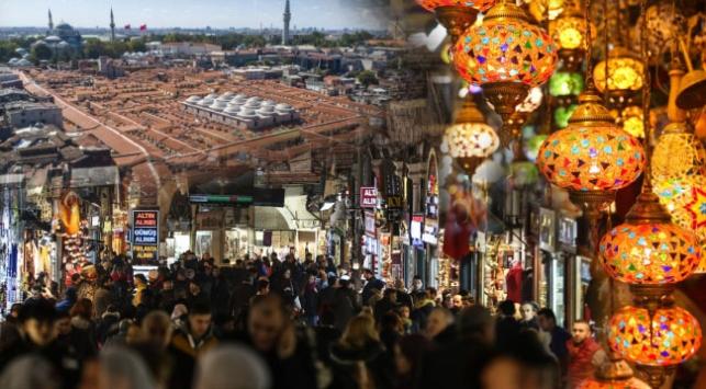 Kapalıçarşı 2019da milyonlarca ziyaretçiyi ağırladı