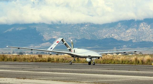 KKTCye inen ilk İHA Doğu Akdenizdeki görev uçuşuna başladı