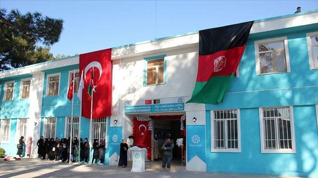 TMV Afganistanın Herat kentinde ilkokul ve eğitim merkezi açtı