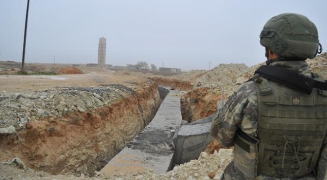 Rasulayn'da PKK/YPG'ye ait bir tünel daha tespit edildi