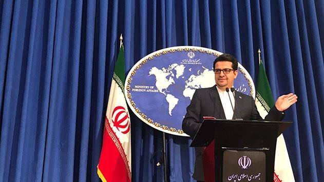 İran Dışişleri Bakanlığı Sözcüsü: Tutuklu takasına hazırız, top ABDde